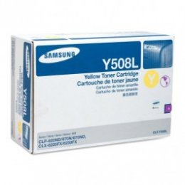 Samsung CLT-Y508L Yellow Toner Cartridge