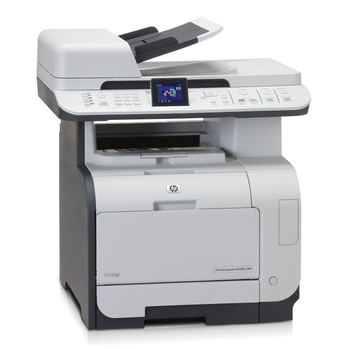 HP LaserJet CM2320NF MFP Color LaserJet Printer RECONDITIONED