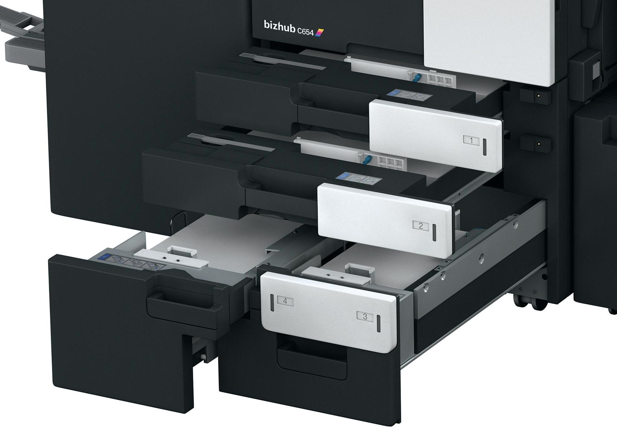 Konica Minolta Bizhub C654 Color Copier / Printer / Scanner
