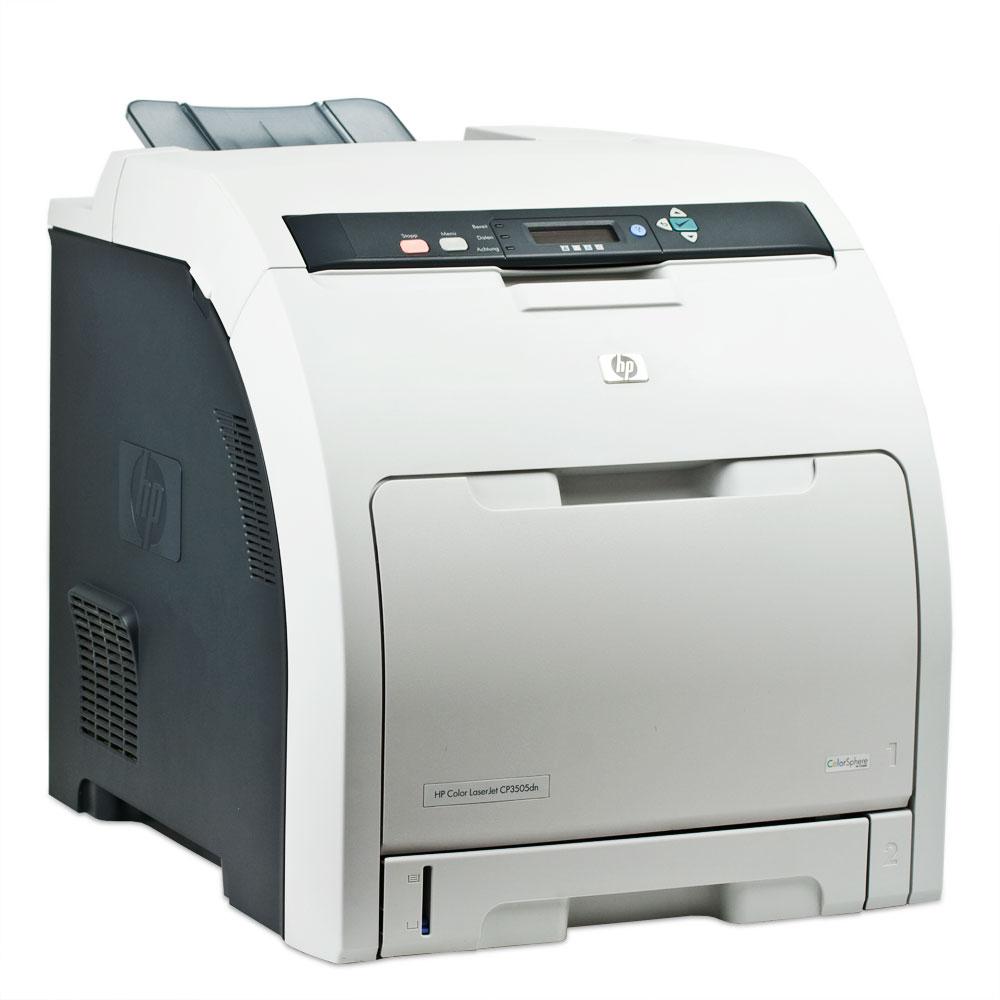 HP Color LaserJet CP3505dn Printer