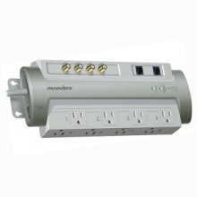 Panamax PM8-AV Powermax Tel/Coax Surge - 8 Outlets