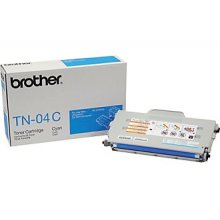 Brother TN04C TN-04C Cyan Toner Cartridge (Yield: 6600 Copies)